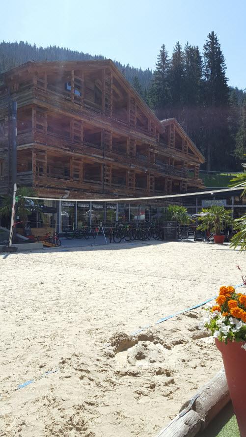 Terrain volley ball