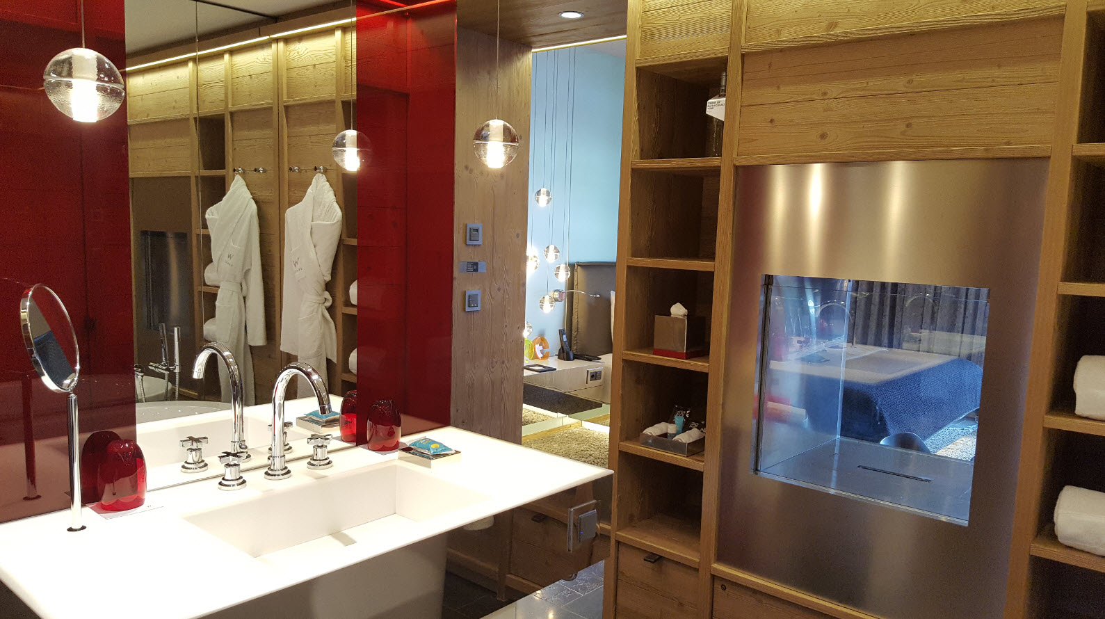 Salle de bains chambre