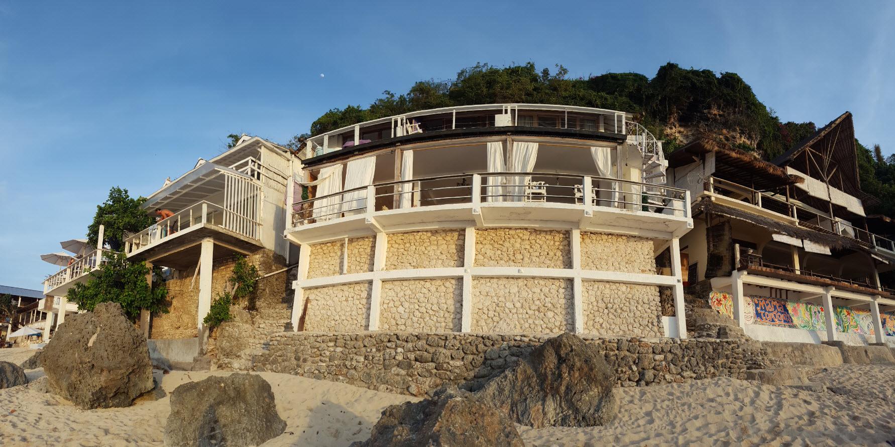 Airbnb sur la plage