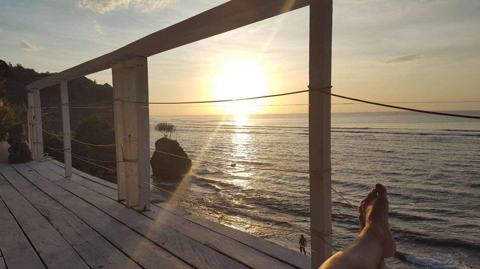 Spot ideal pour le coucher du soleil