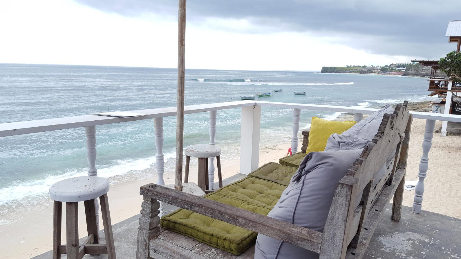 Breakfast Bingin Beach Bali