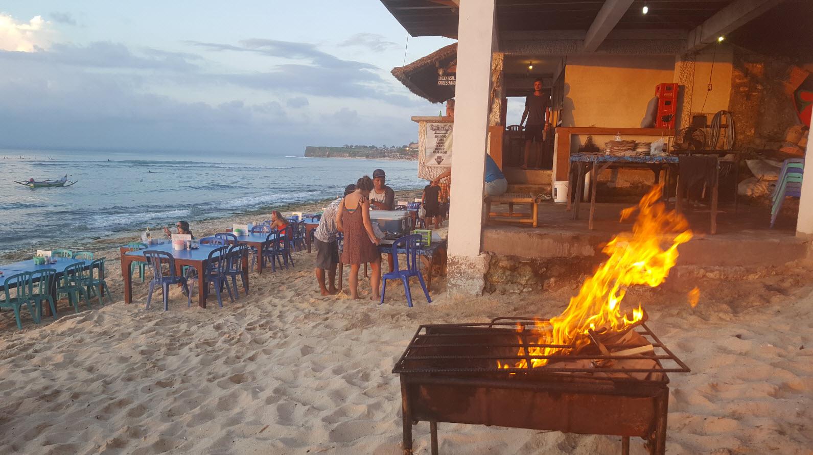 Poisson grille Bingin Beach Bali