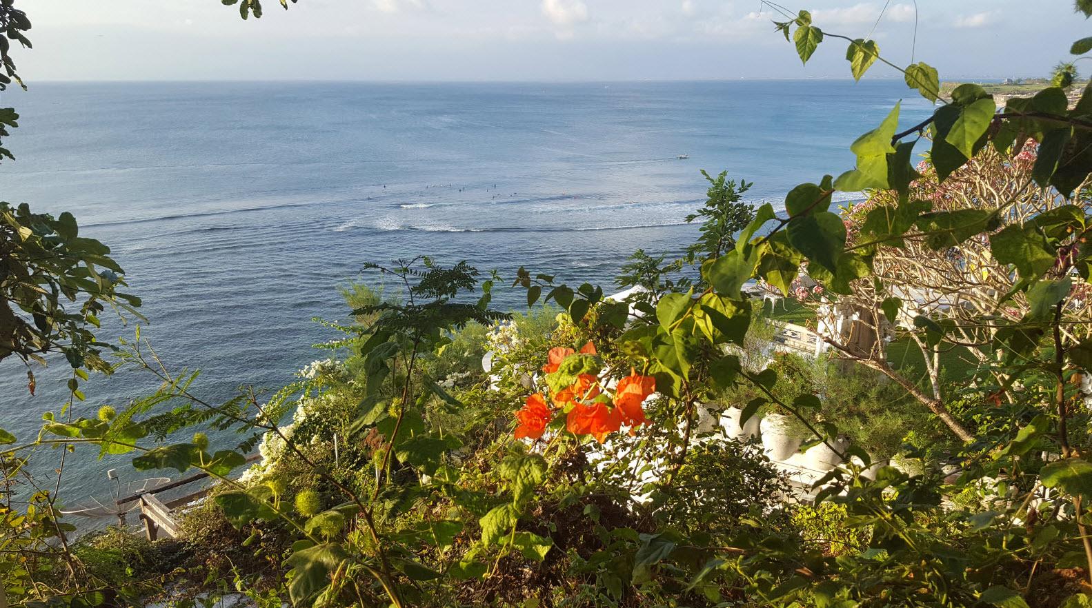 Bingin Beach Bali arrival