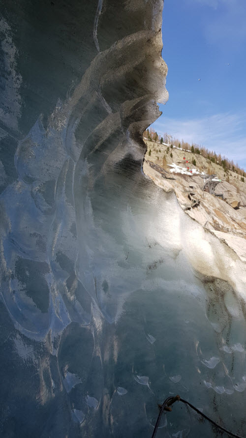 Balade sur la Mer de Glace
