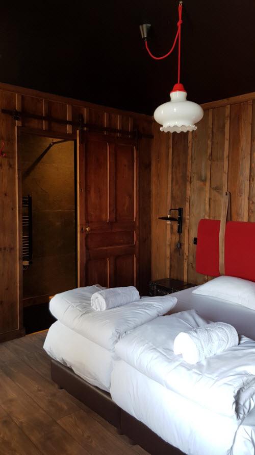 Detail deco chambre Randonneur