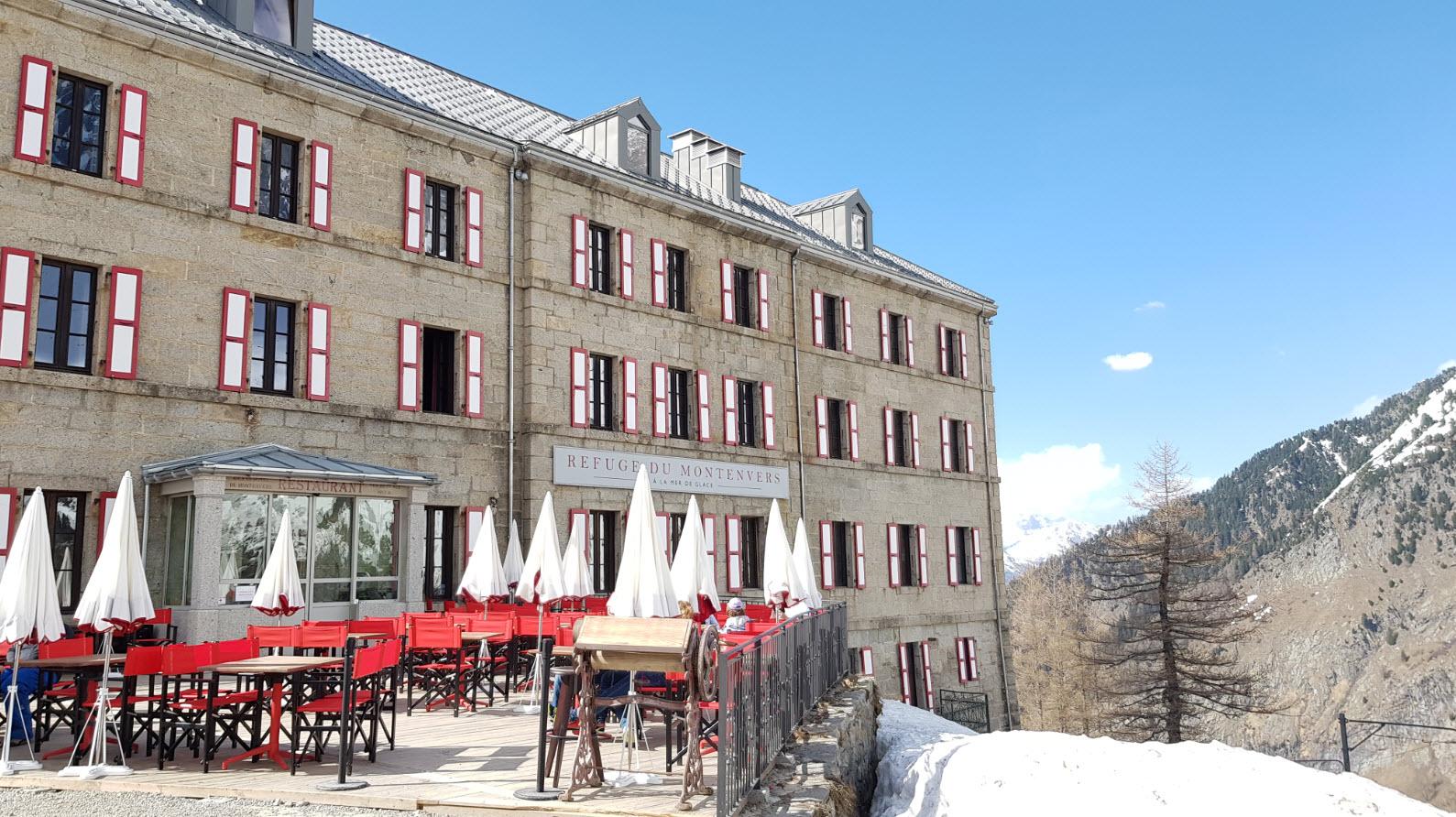Restaurant Sibuet Mer de Glace Chamonix