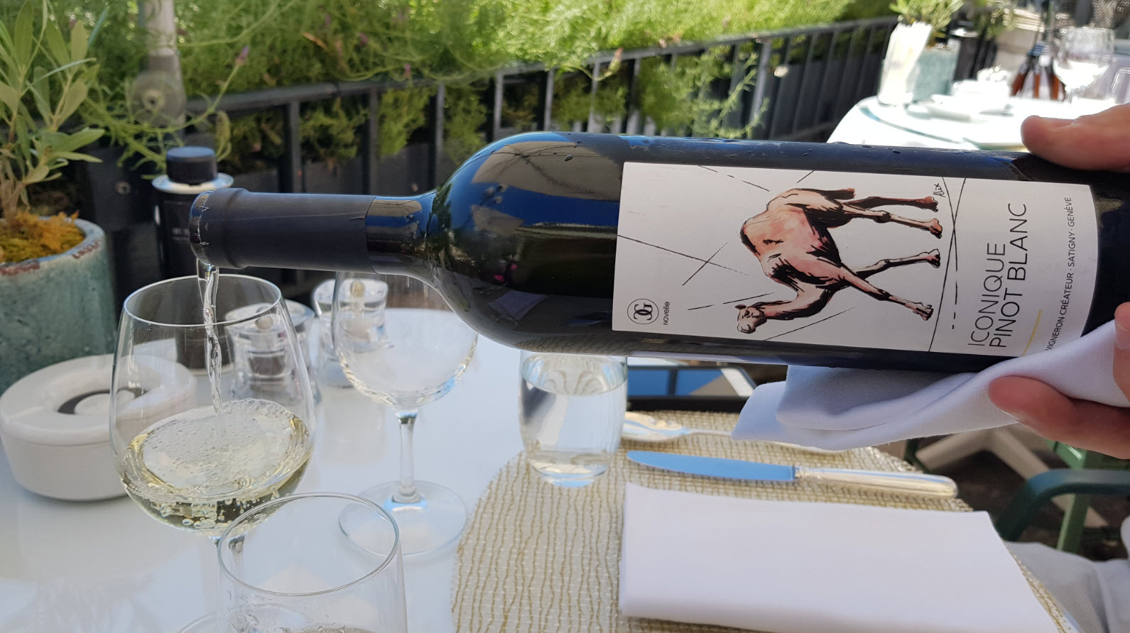 Vin blanc Geneve