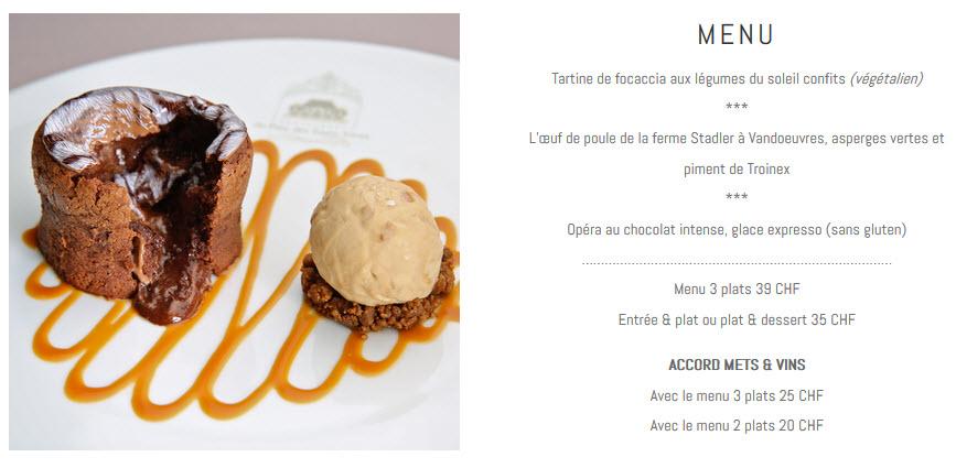 Brasserie Parc des Eaux Vives