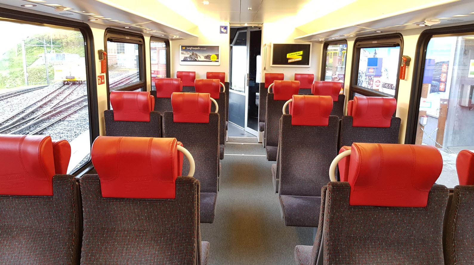 Train pour la Jungfrau