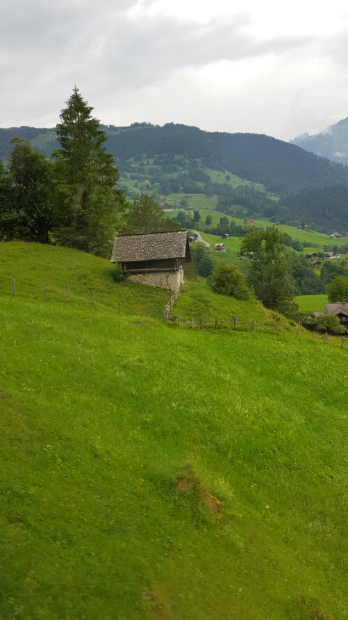 Grindelwald à Kleine Scheidegg en train