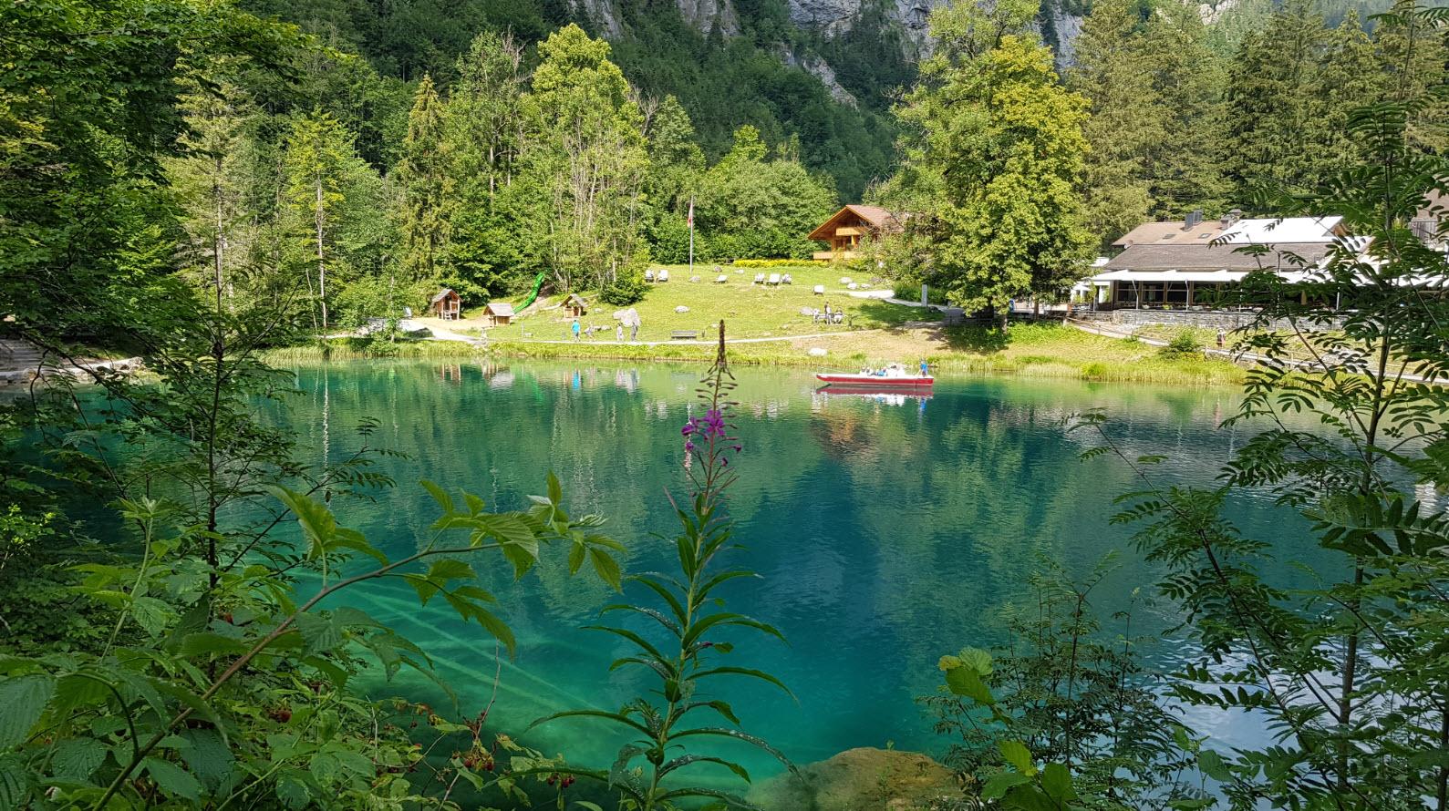 Blausee Oberland Bernois