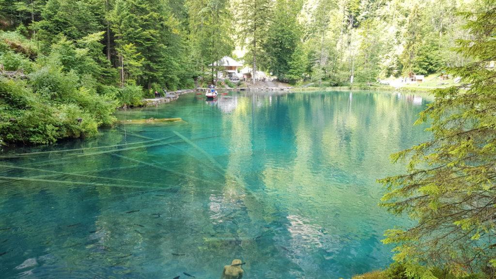 Plus beaux lacs montagne Suisse