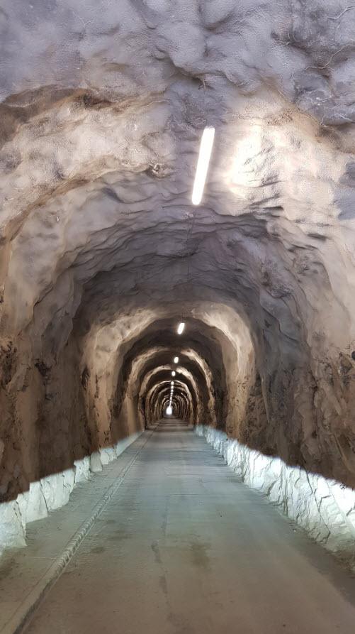 Route acces Tseuzier Valais