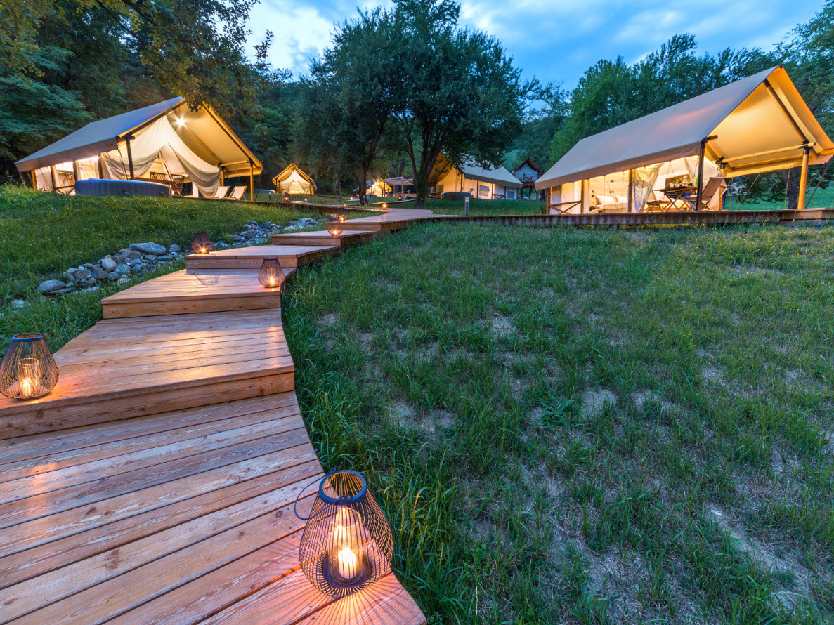Glamping Tent Chateau Ramšak