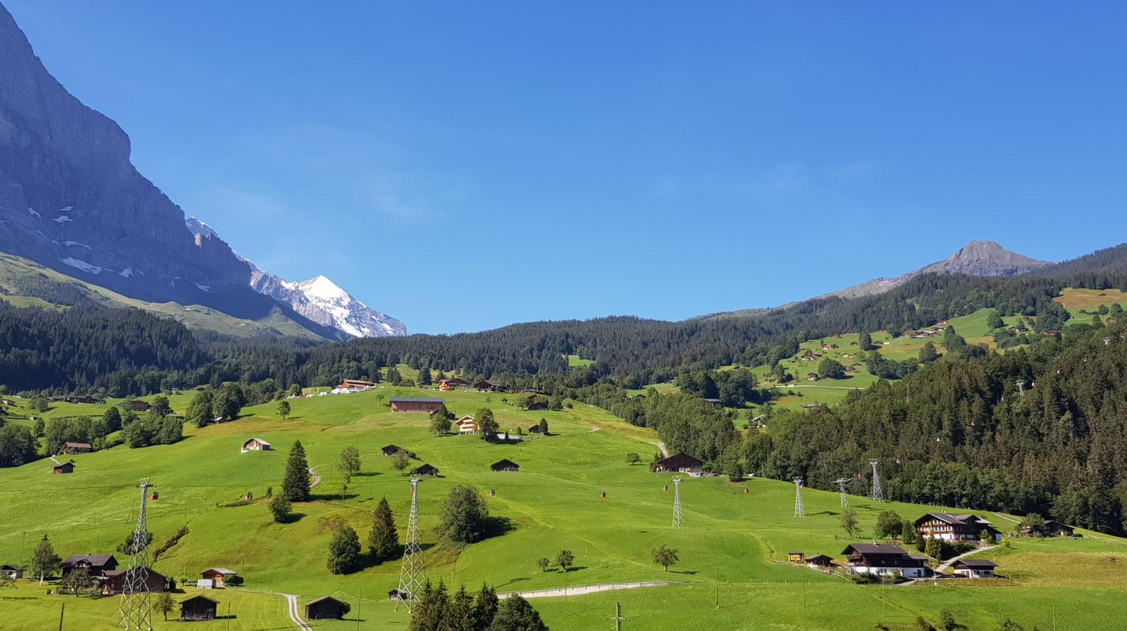 Charmant village Suisse