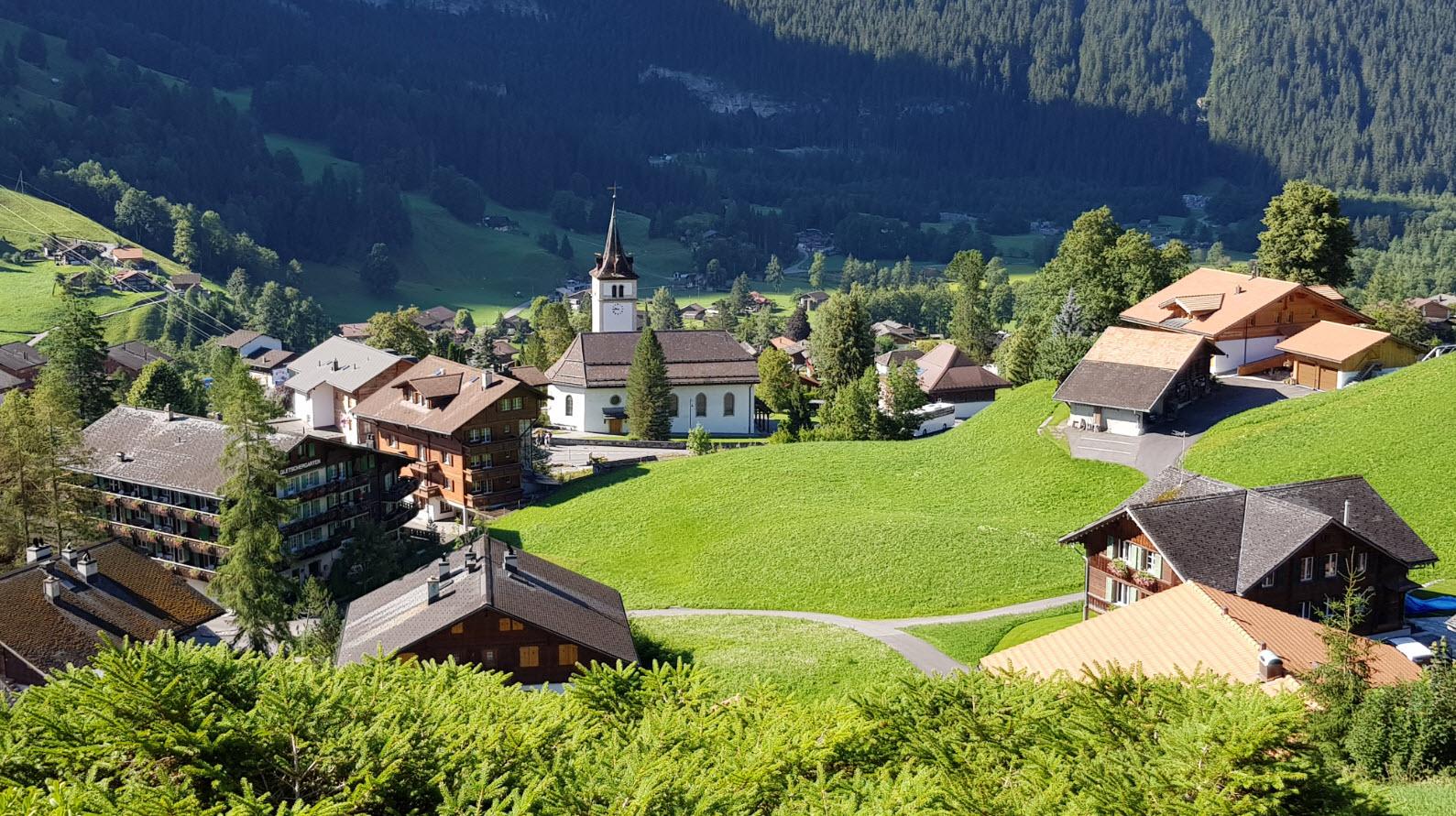 Village Oberland Bernois