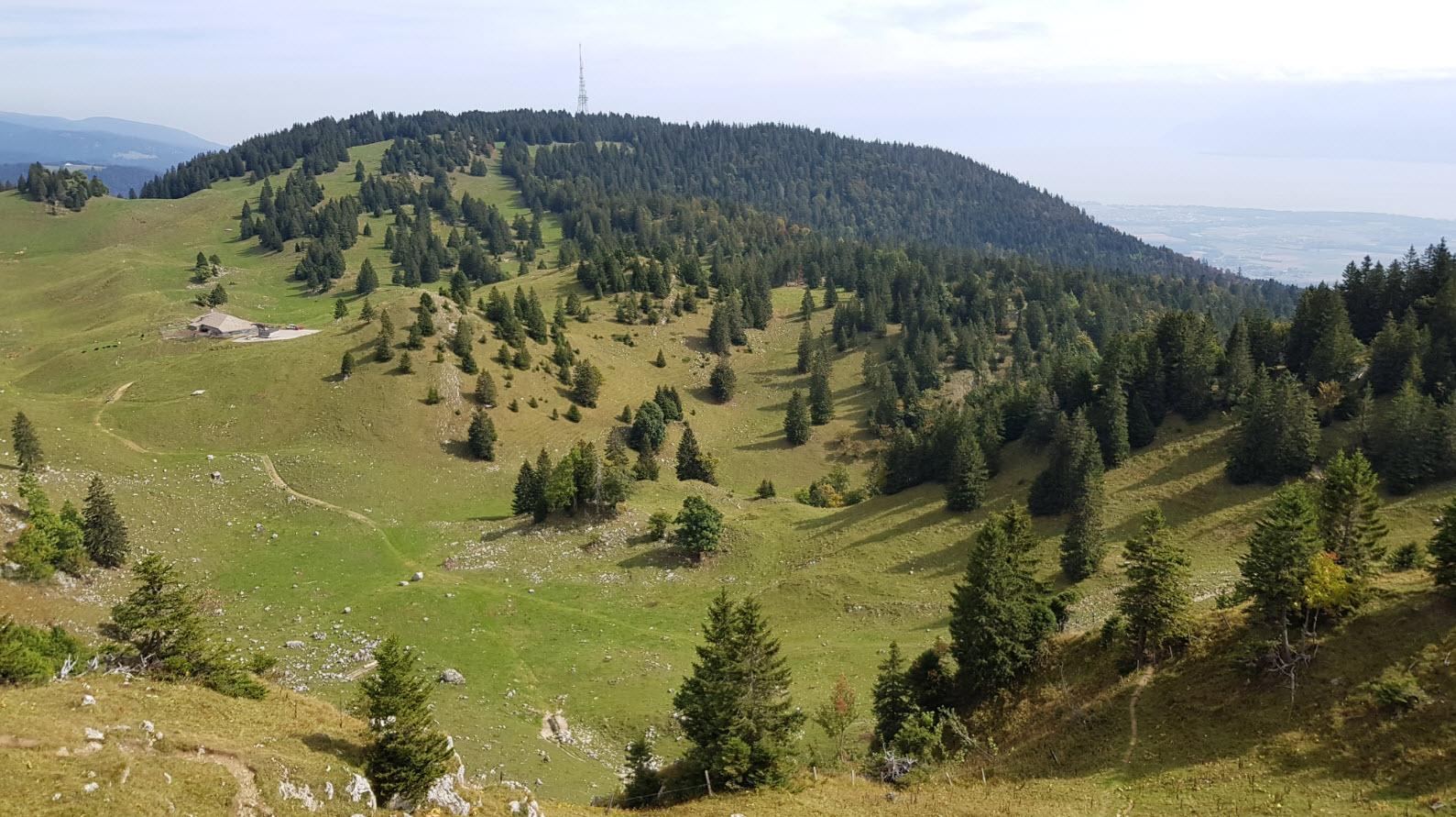 La Dole point de vue panoramique