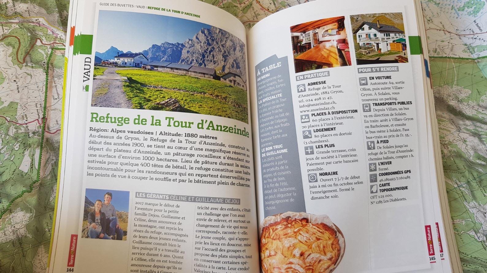 Restaurants alpage Suisse Romande