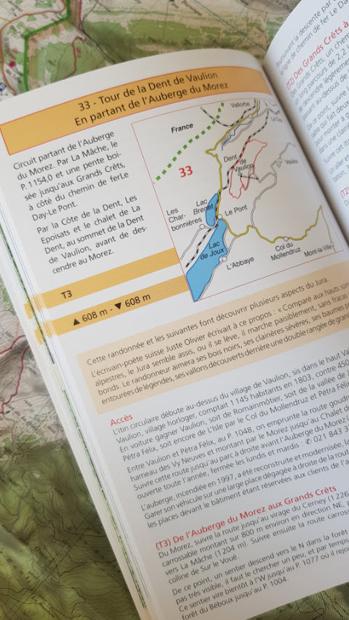 Guide rando bassin lemanique