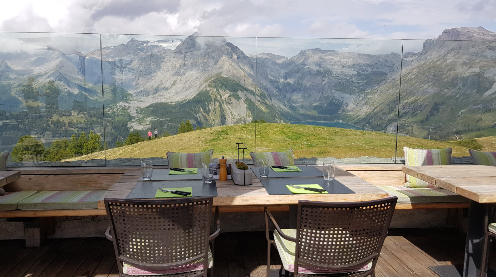Restaurant altitude panoramique Valais