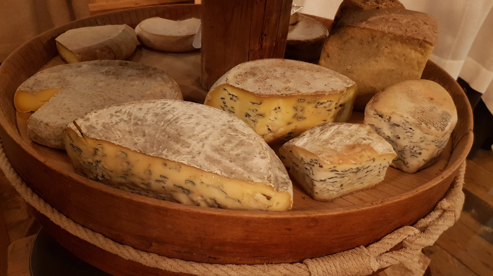 Chariot fromages