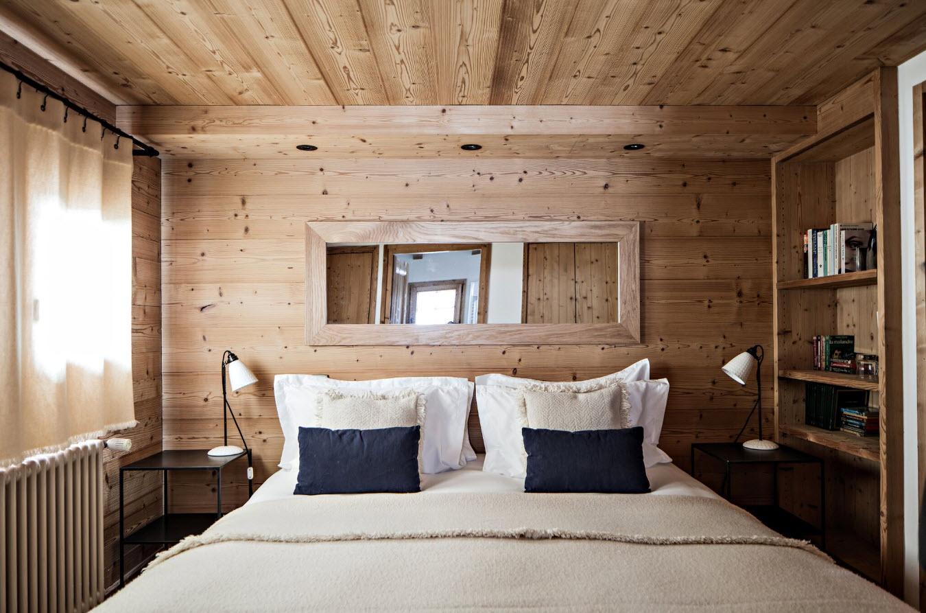 Alpaga Chambre avec cheminee