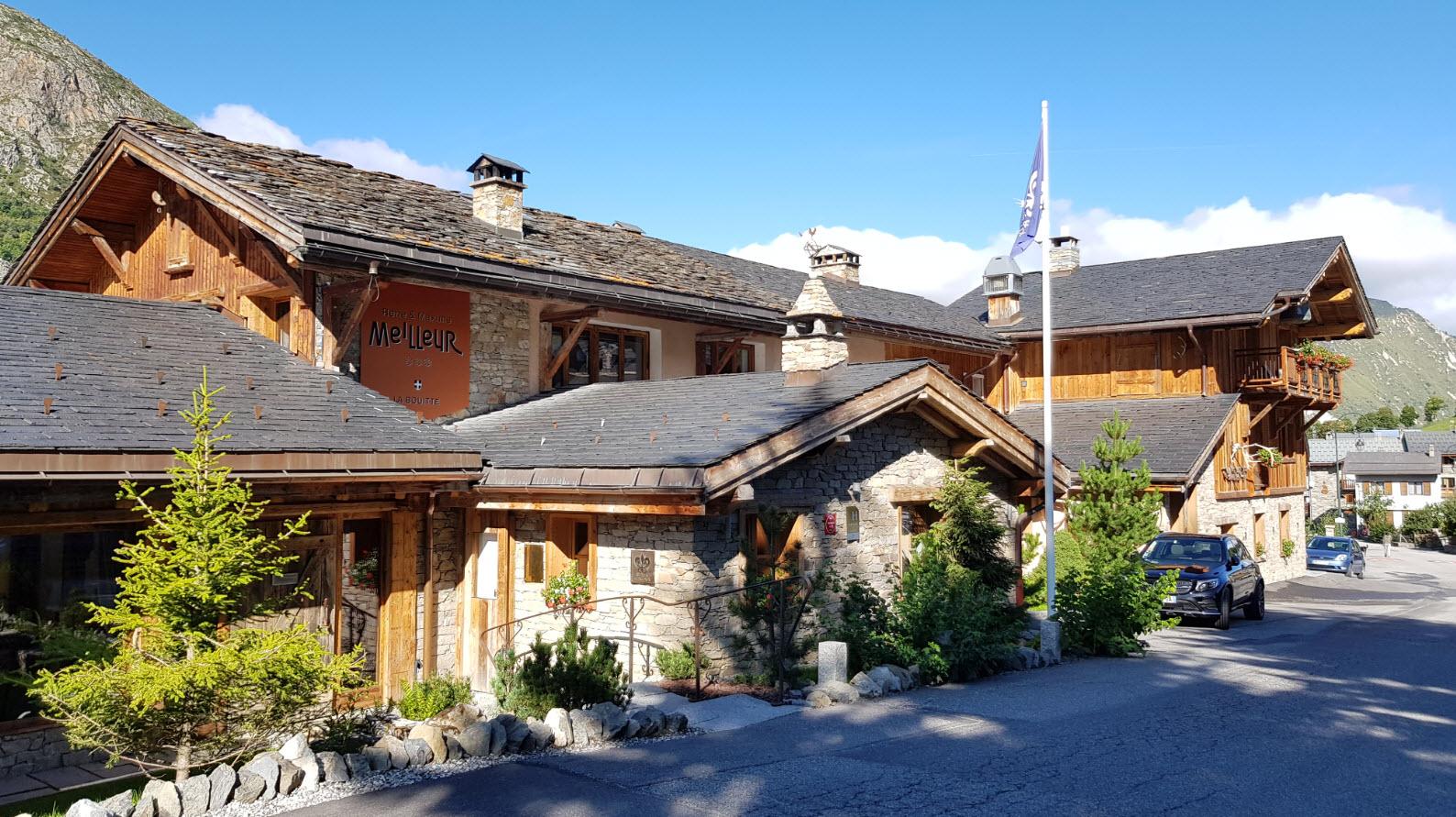 Hotel 5 etoiles domaine skiable 3 Vallee
