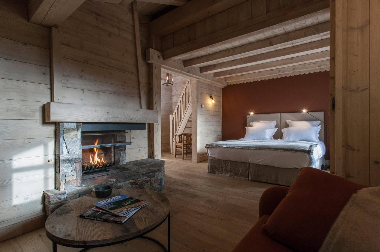 Le Cerf Amoureux Chambre avec cheminee