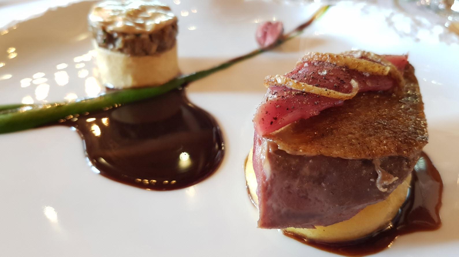 Restaurant gastronomique Saint Marcel de Belleville