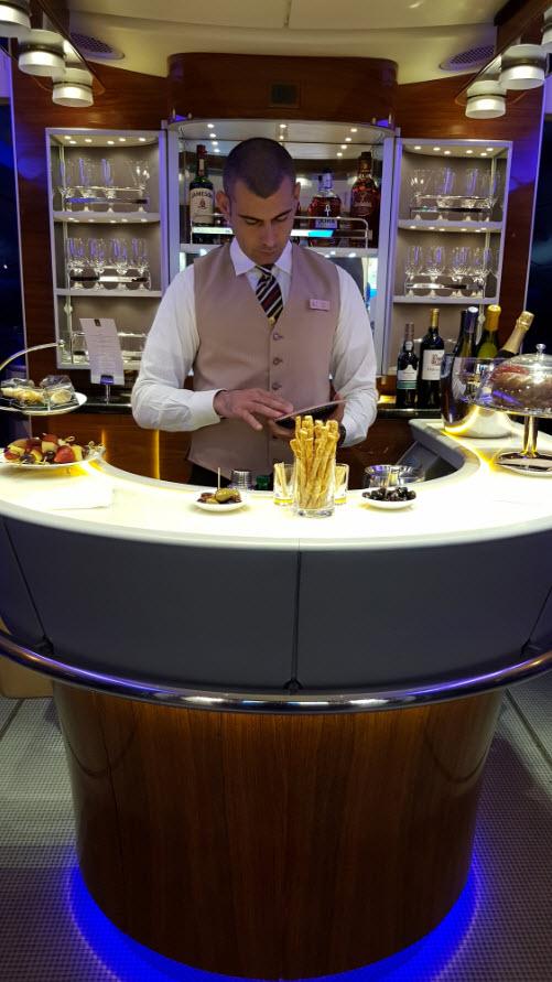 Classe Affaire Emirates A380