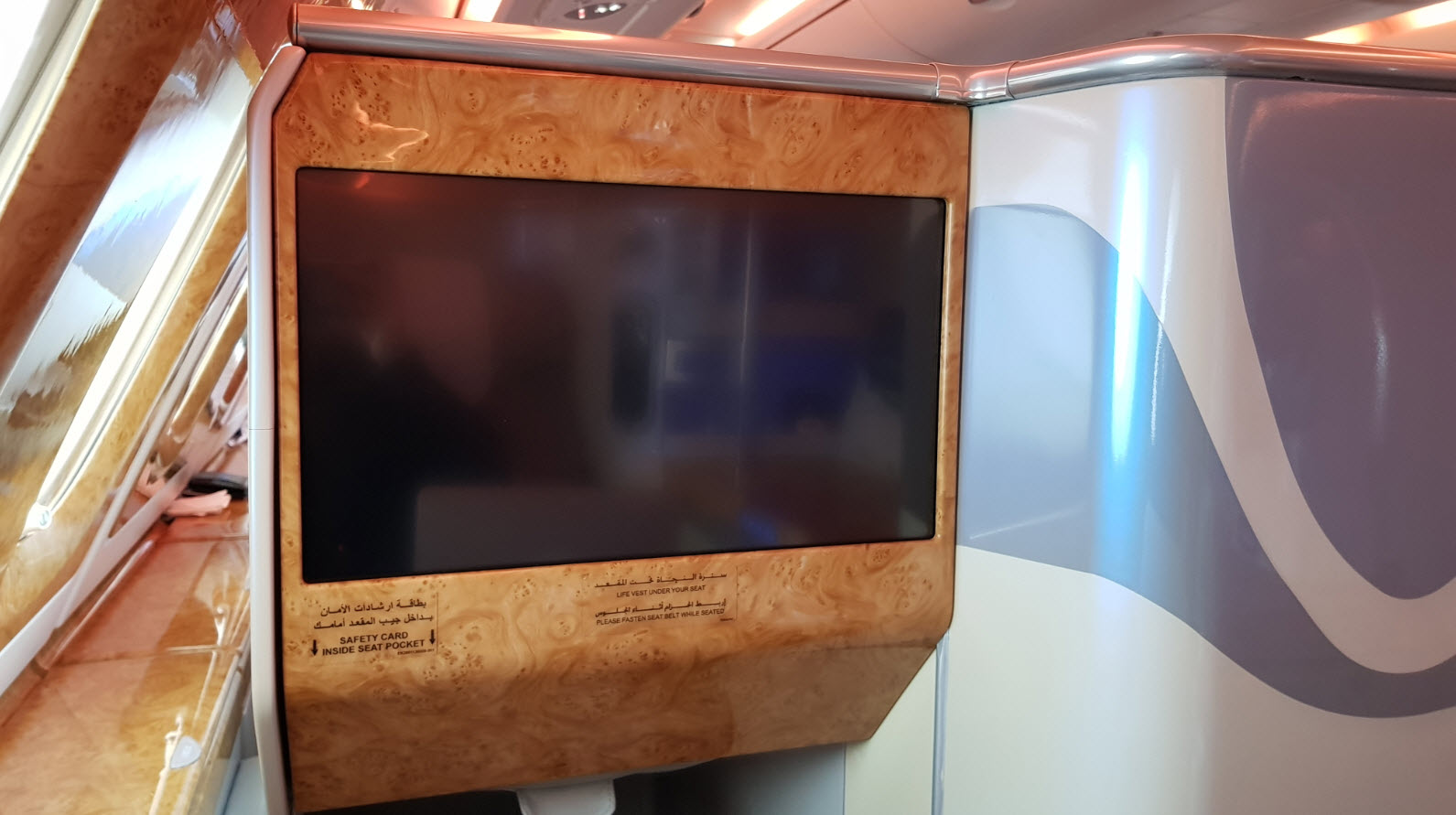 Classe Affaire Emirates A380
