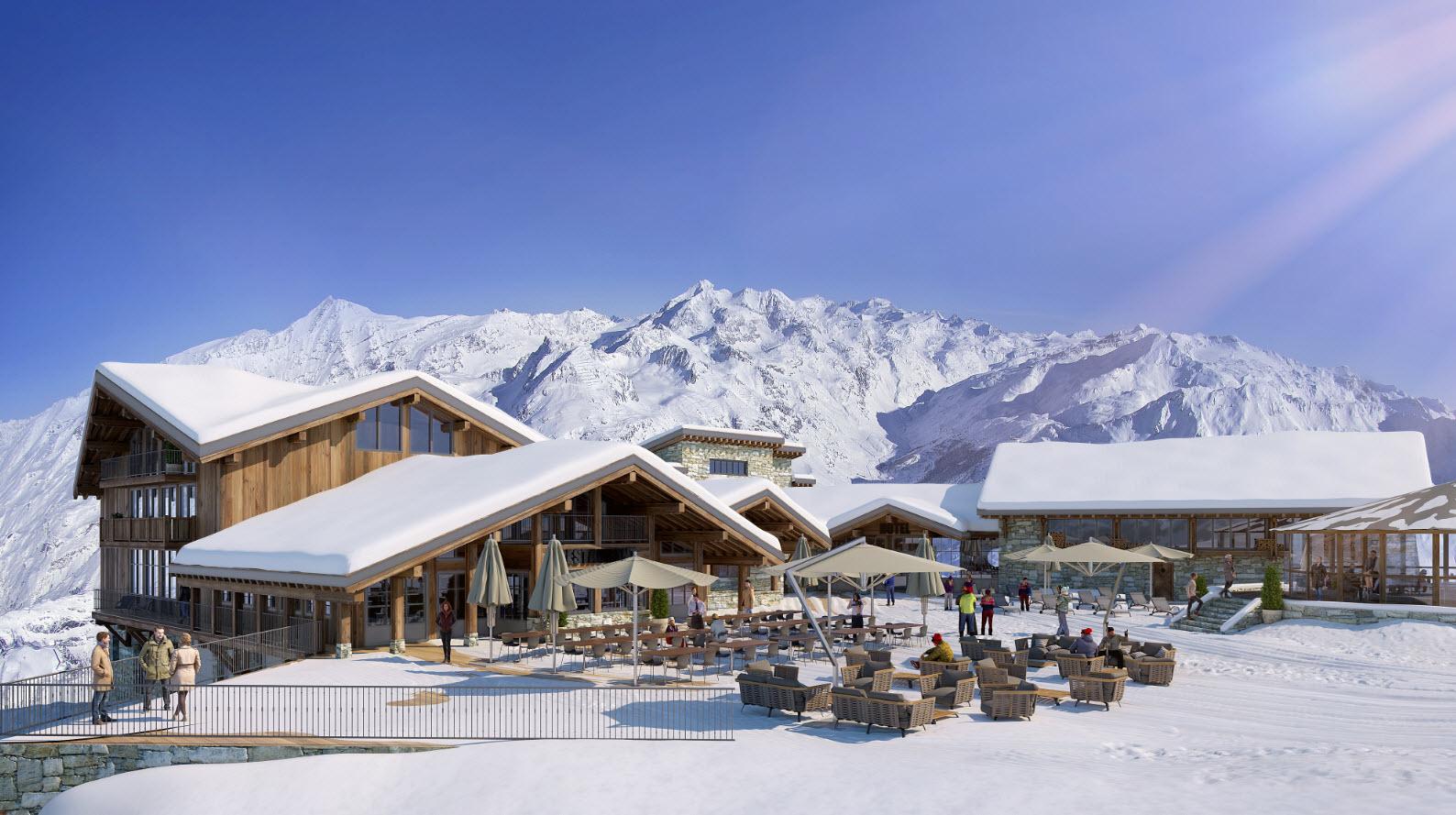 Dormir sur les pistes Val Isère - (c) Le Refuge de Solaise