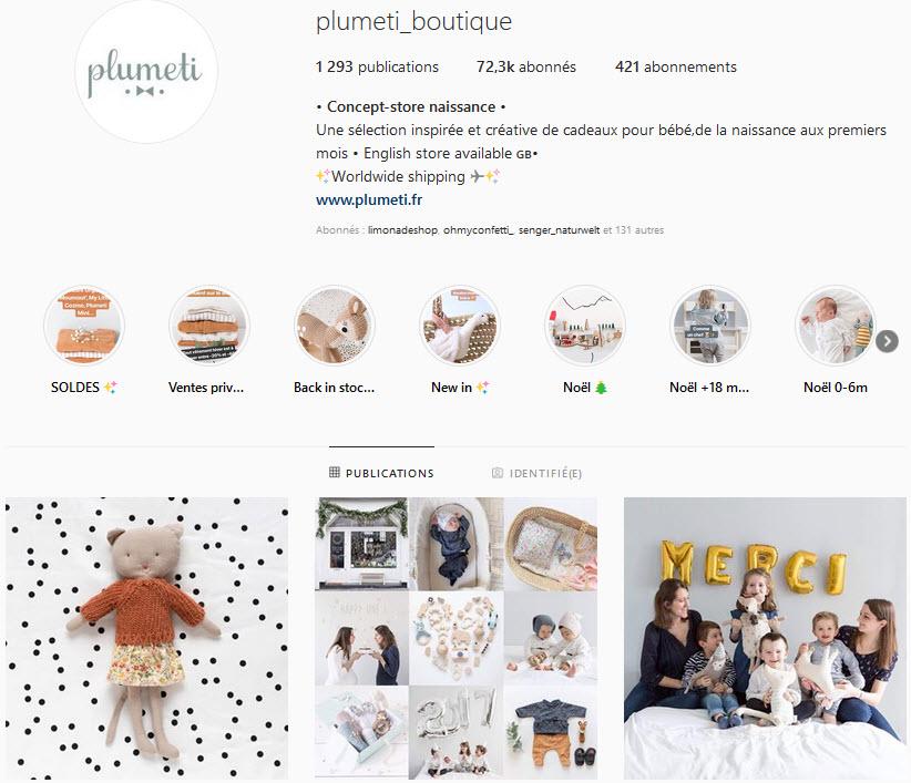 Concept store Plumeti