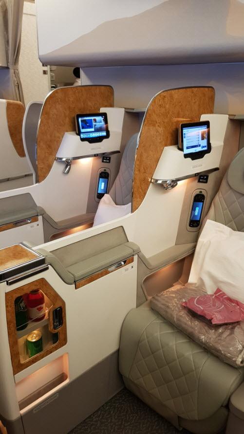 Business Class Emirates 777