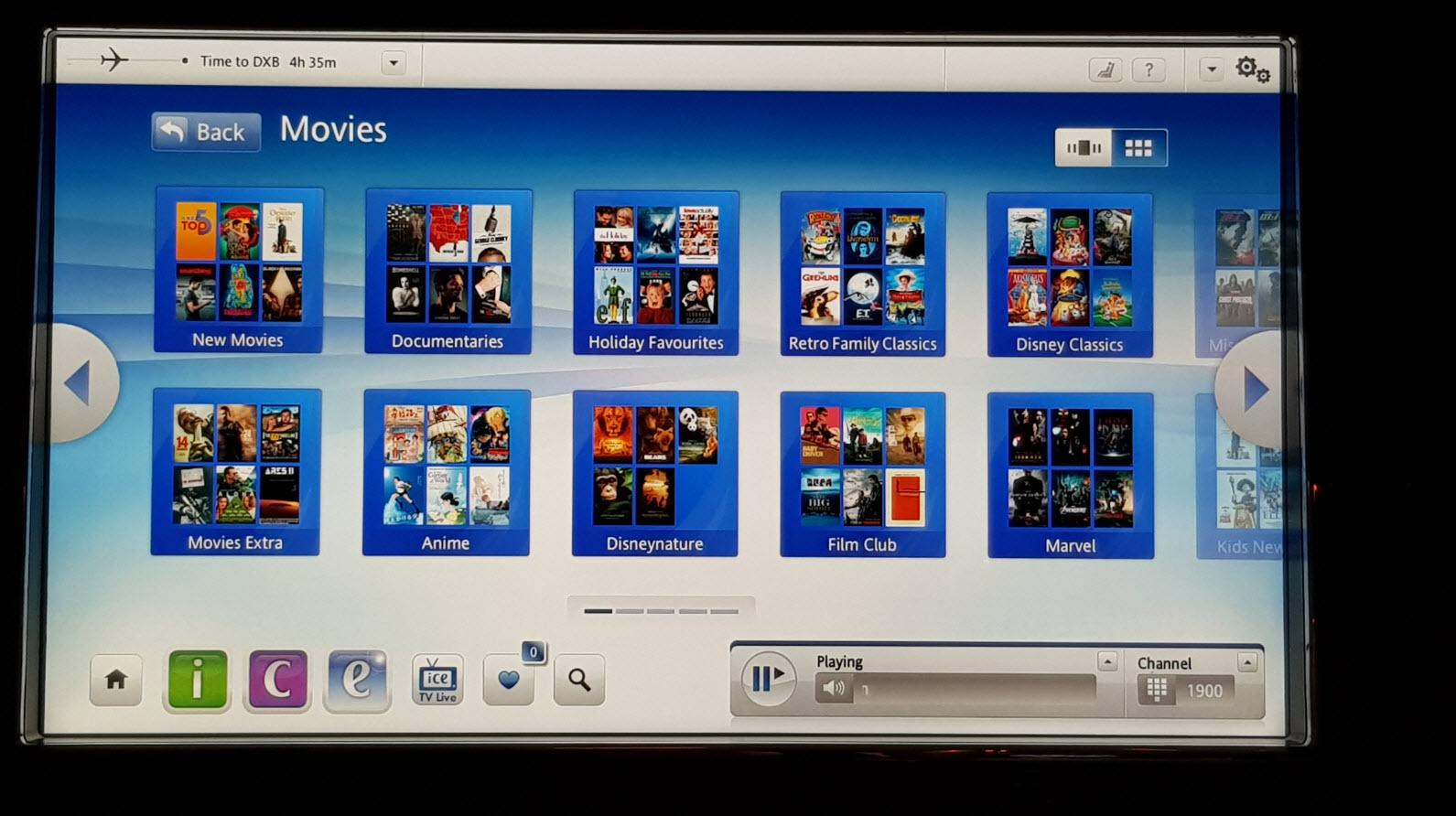 Classe Affaires Emirates 777