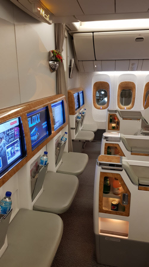 Business Class Emirates 777