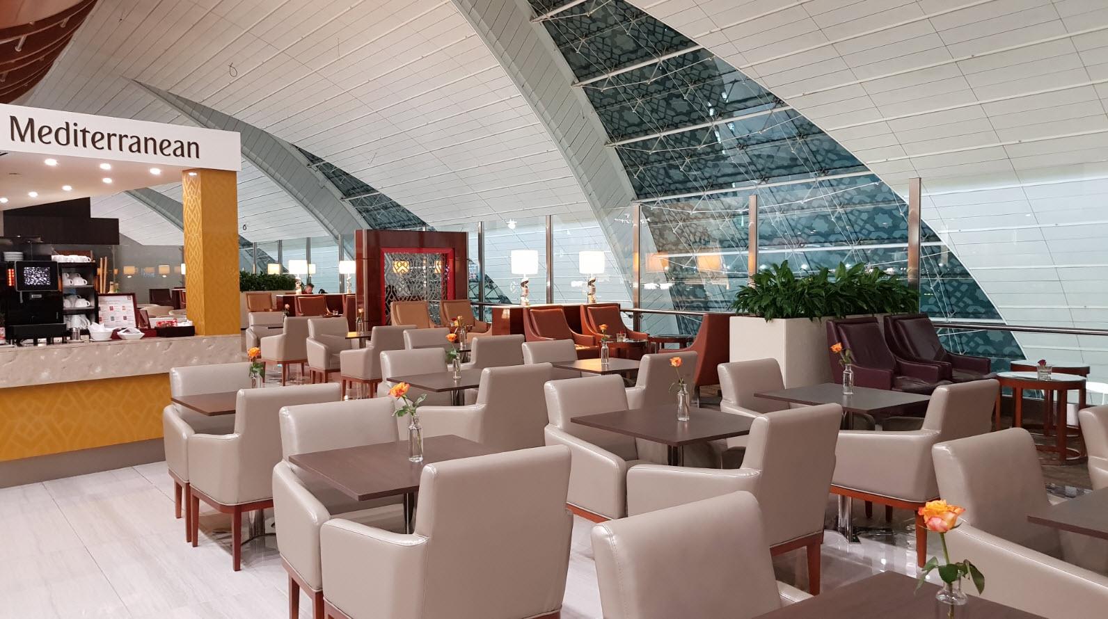 Business Lounge Emirates Dubai