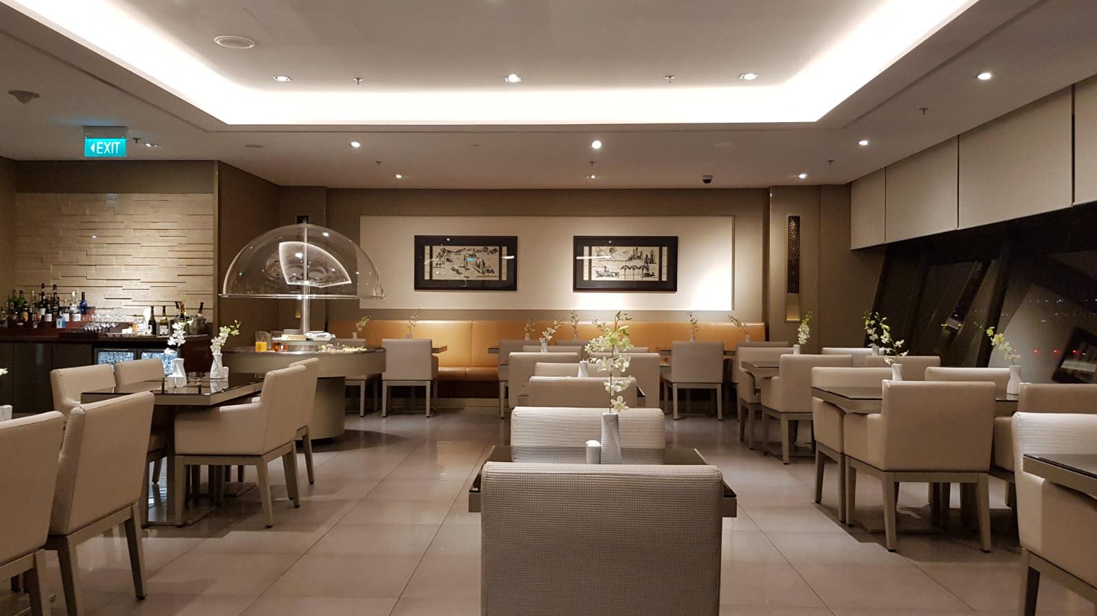 Lounge Emirates Singapour