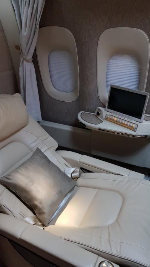 First Class 777 Emirates