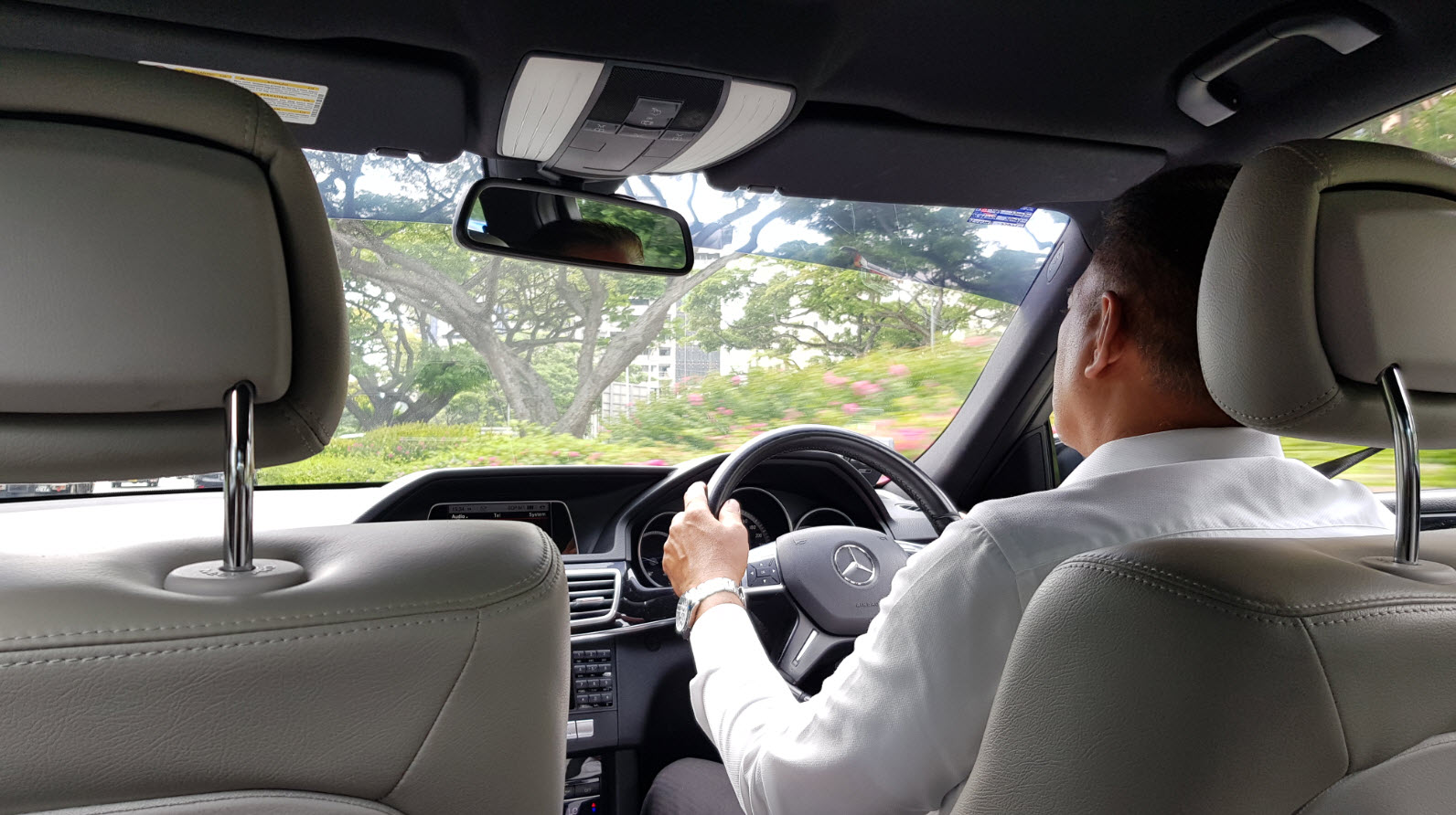 Service chauffeur