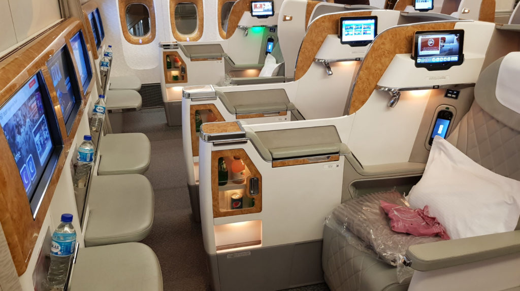 Emirates classe affaires