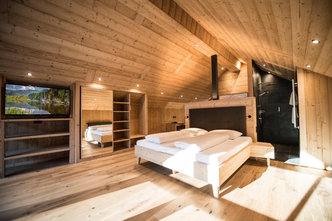 Tenne Lodges - Dormir - Dolomites (c) Rotwild