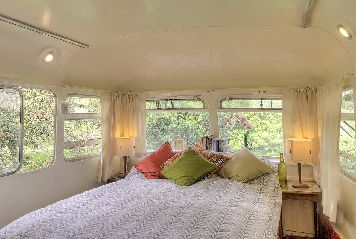 Dormir dans un bus