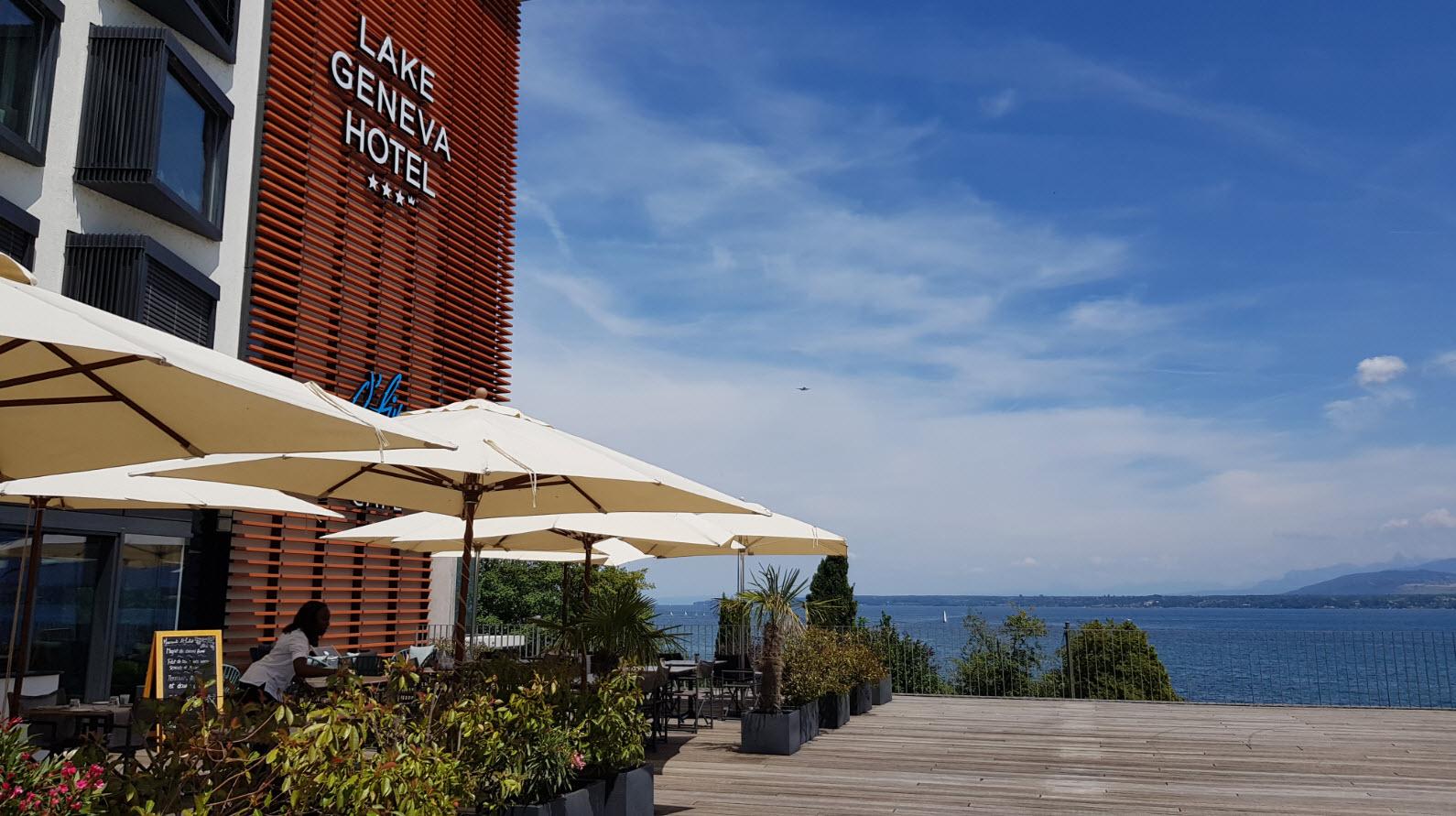 Restaurant Lake Geneva Versoix