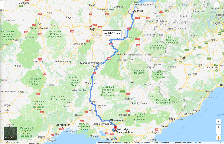 Roadtrip sud france jour 1
