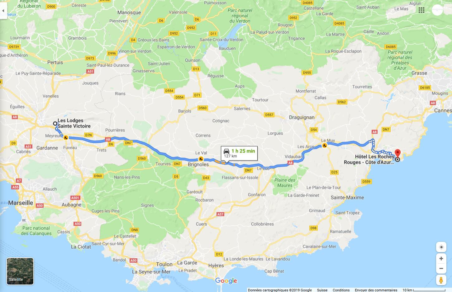 Roadtrip sud france jour 2