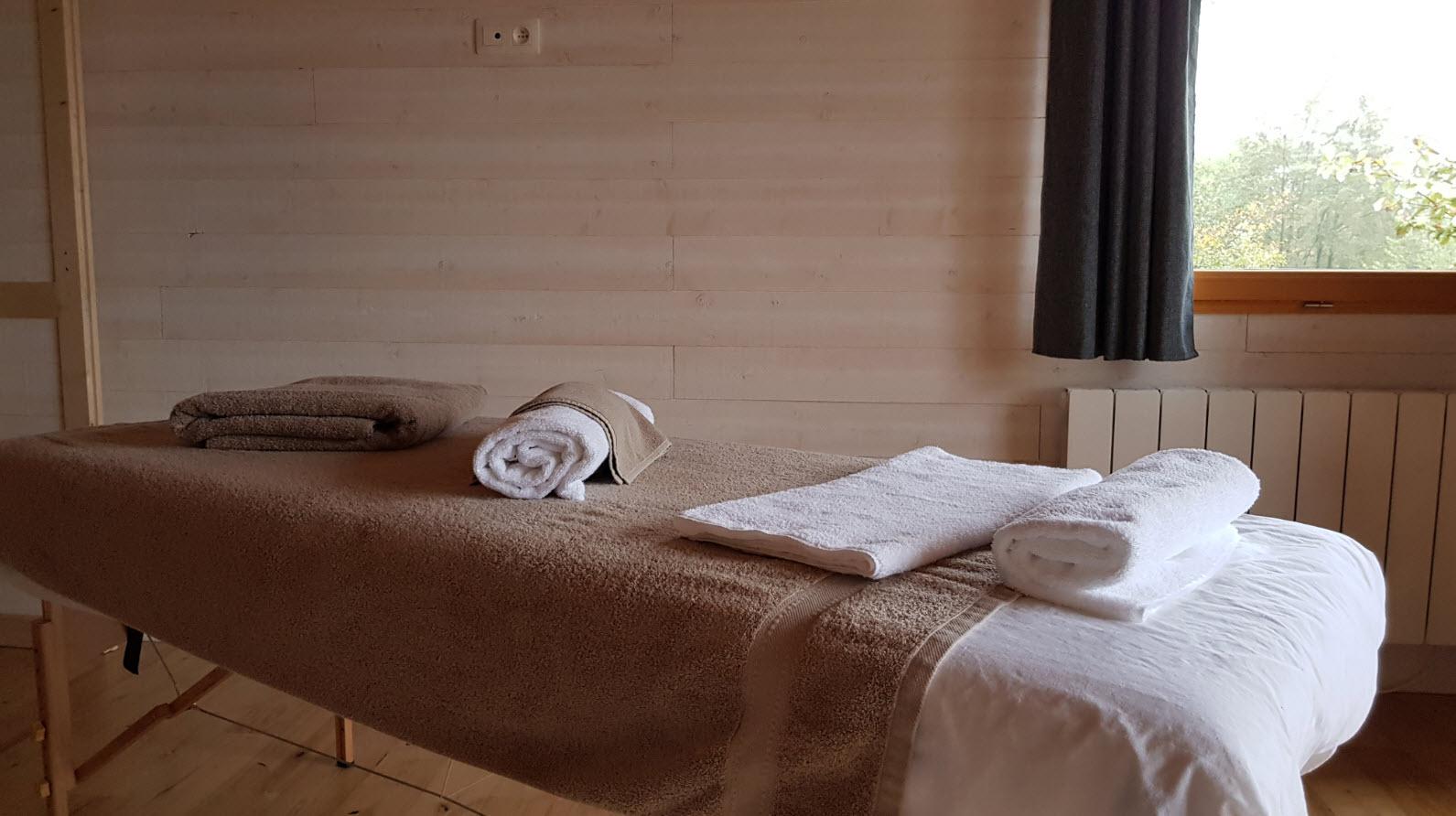 Massage en chambre