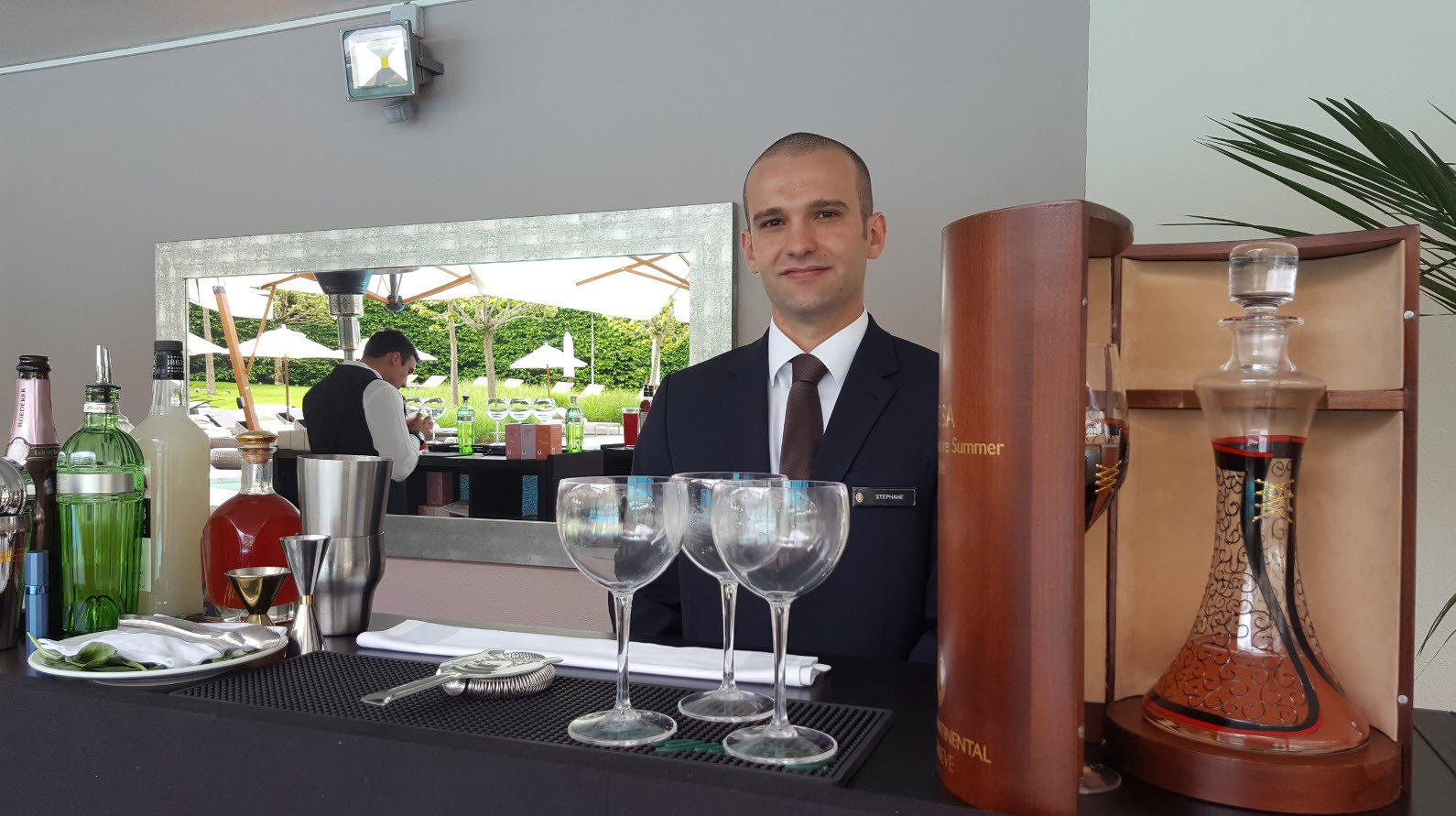 Barman InterContinental Geneve