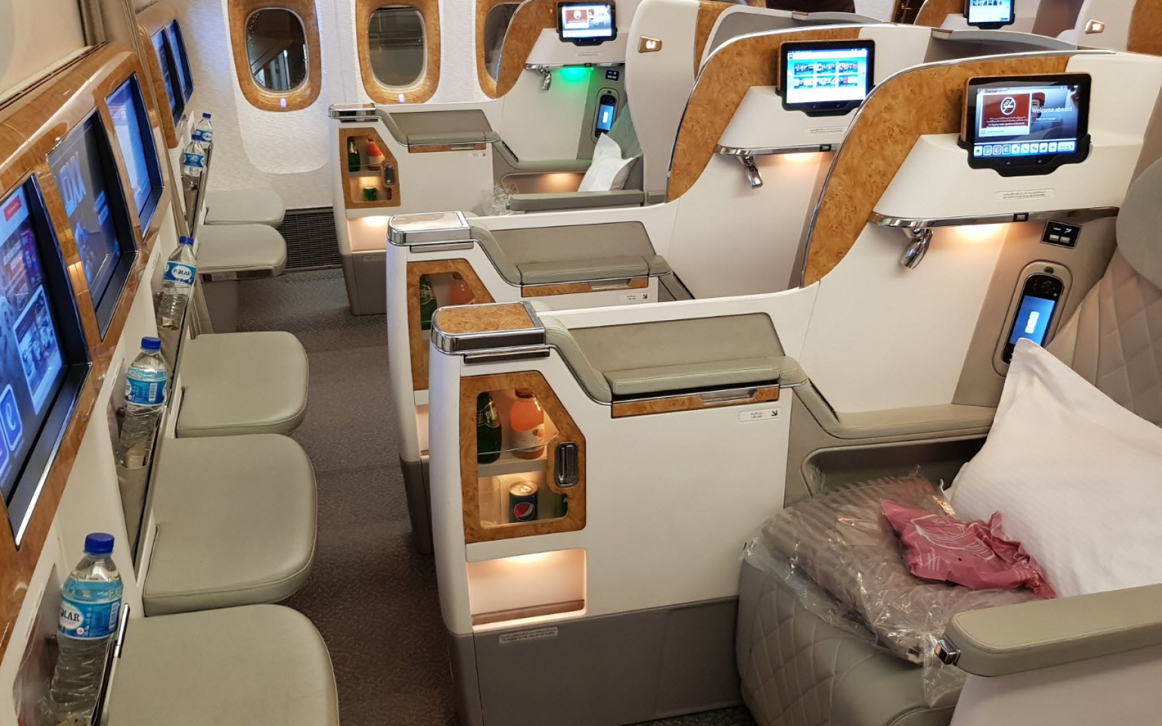 En Business Class de Singapour à Dubai avec Emirates