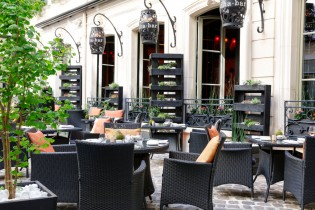 Terrasse Buddha-Bar Hotel Paris